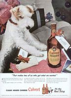 Calvert Reserve Whiskey 1945 Ad Picture