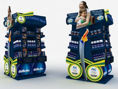 Point of Sale | Health & Beauty Point of Purchase Design | POP | POSM | POS | POP |GENERALES by Wilson Ruiz at Coroflot.com