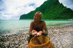 Traditional fishing Ofu Island