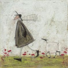 Walking the Sheepster:: by Sam Toft