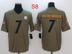 ff2ab422c1f Men 7 Ben Roethlisberger Jersey Football Pittsburgh Steelers Jersey