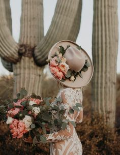 The Next Big Flower Trend is in Bloom: Floral Bridal Hats! floral hat ideas for the wedding Wedding Hats, Wedding Themes, Boho Wedding, Wedding Styles, Dream Wedding, Bella Wedding, Forest Wedding, Woodland Wedding, Wedding Poses