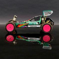 "The lengendary RC10 ""Detroit Worlds Car"" of Masami Hirosaka."