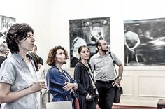 """New Mankind exhibition @artfoolygallery #bucharest #open until #june 29th #AlfredRece #romanian #contemporary #artist #painter #oiloncanvas #painting #present vs #past #artlovers @sergiuchihaia #blackandwhite #color #photo by @mihaitsava @artwall.ro #artfoolyartistsandfriends #bucharest #art #events #artgram #contemporarypainting #newmankind #curator @ancanegescu"" by @artfoolygallery. #이벤트 #show #parties #entertainment #catering #travelling #traveler #tourism #travelingram #igtravel #europe…"