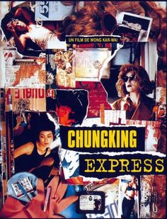"""Lurching, vertiginous camera work is one hallmark of Wong Kar-wai's """"Chungking Express,"""" a film from Hong Kong with a tirelessly capricious sense of style. While its slender, two-tiered plot links love affairs that happen largely by accident, the film's real interest seems to lie in raffish affectation. Mr. Wong has legitimate visual flair, but his characters spend an awful lot of time playing impish tricks. A film in which a man talks to his dishtowel has an overdeveloped sense of fun."""
