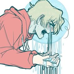 """Hey guys look~ it's """"Niagara FEELS!"""" Im pretty sure this is how all fangirls look during/after HetaOni."""