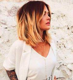 Hair 2018 Autumn Trends Ideas For 2019 Bob Hairstyles For Thick, Cool Hairstyles, Bob Haircuts, Medium Hair Styles, Short Hair Styles, Fall Hair Colors, Hair Color For Women, Hair 2018, Hair Trends