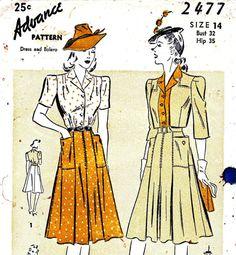 """Pour un mariage """"d'époque""""...: Pour les couturières : patrons vintage !"""