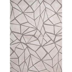Modern Geometric Tufted Rug (5' x 7'6) | Overstock.com
