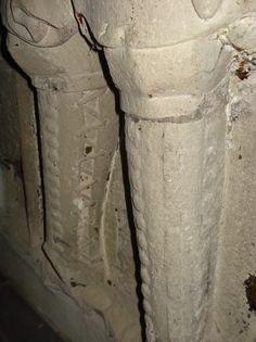 Hartrad von Schönecken, Grabplatte, Trier, Deutschland - ca. 1350