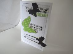 Happy Birthday card by InkyAshley on Etsy