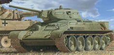 Medium tank T-34model 1941 / czołg średni T-34 model 1941