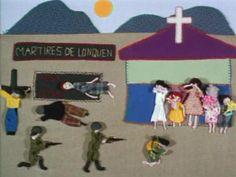 """Corto que anima las verdaderas """"ARPILLERAS"""" QUE BORDARON LAS MUJERES DE LOS BARRIOS MAS POBRES DE Santiago de Chile DURANTE LA DICTADURA DE Pinochet, HACIENDO UNA VERDADERA CRONICA MUDA EN TIEMPOS DE REPRESION Y CENSURA    PREMIO GRAN CORAL DE ANIMACION FESTIVAL DEL NUEVO CINE LATINOAMERICANO DE LA HABANA 2002  PREMIO ESPECIAL DEL JURADO FESTIVAL DERHUMALC 2003 ARGENTINA  PREMIO AL MEJOR CORTO FESTIVAL DE CINE DE BIARRITZ SANS FRONTIERES"""