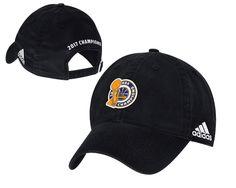 56b2886f348bd Men s   Women s Golden State Warriors Adidas Black 2017 NBA Finals Champions  Unstructured Adjustable Hat Warriors