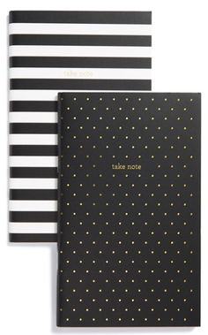 cute dotted notebooks