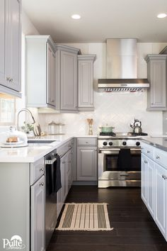 Appliances that work for your cooking routine are vital to your kitchen happiness. Whether you are a gas range devotee or prefer induction cooktops, we have design options to meet your needs. Click to learn more! | Pulte Homes