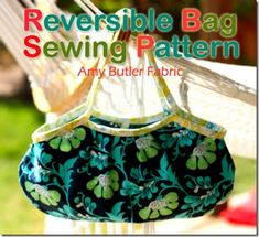 Free Bag Sewing Pattern - Beginners Level ... love that fabric!