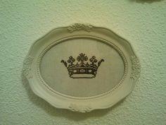 Cross stitch crown...