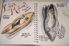 Lisa Milroy artist research Gcse Art Sketchbook, Sketchbook Ideas, Sketchbooks, Lisa Milroy, Artist Research Page, Peter Blake, Canadian Painters, Tim Walker, Shoe Art