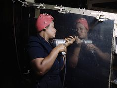 All hands on deck: 60 percent of women entering the workforce during WWII were over 35 years old.    Read more: http://www.rd.com/slideshows/rosie-the-riveter-history/#ixzz3E9gAadQB