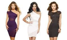 Groupon - Women's Stretch Mini Dresses from $ 29.99–$36.99 in [missing {{location}} value]. Groupon deal price: $36.99