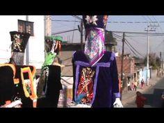 Chinelos en el Cierre de fiestas patronales San Andrés Totoltepec 2012 - YouTube