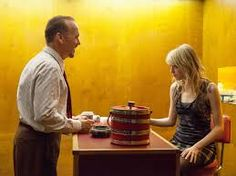Birdman - a theatre performance onscreen lent atmosphere.  Lots of great lines and bizarre moments.  Based on the shorts I'd seen, I almost gave it a miss - so glad I didn't!