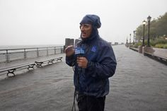 MIAMI — He's the man.Come hell or high water, whenever natural disaster strikes, the meteorologist is usually on the scene. Jim Cantore, Breaux Bridge, Atlantic Hurricane, Lake Pontchartrain, Rain Jacket, Bomber Jacket, 2nd Chance, Thing 1, Meteorology