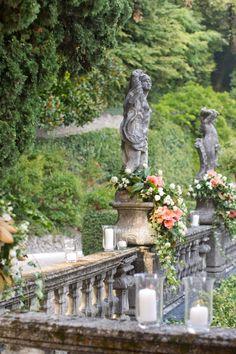 Lake Como Italian Wedding Decor - Weddings Inc