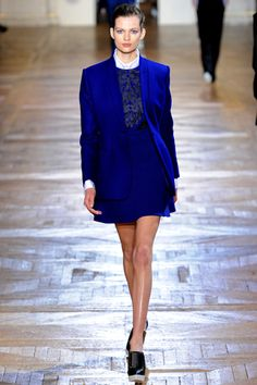 More blue from Ms. Stella McCartney!