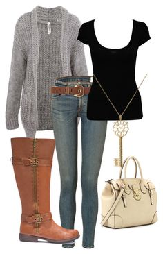 Love the basic neutrals in this outfit. Already have these as separates, just need to pair them together!