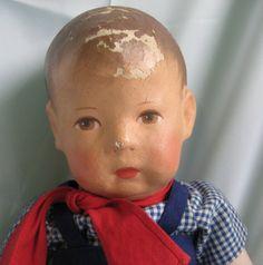 hübsche alte KÄTHE KRUSE PUPPE 42 cm (Nr. 36)   eBay