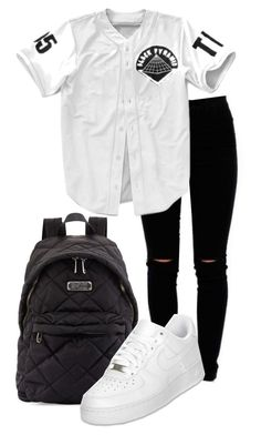 """""""Been in my draft for like ever !"""" by nae-nae22 ❤ liked on Polyvore featuring Marc by Marc Jacobs and NIKE"""