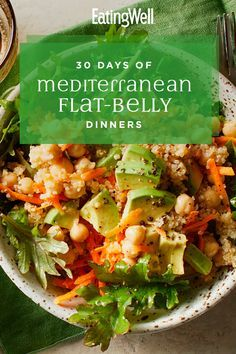 mediterraneandiet mediterranean flatbelly dinners days diet 30 of 30 Days of Mediterranean FlatBelly Dinners Mediterranean diet You can find Mediterranean diet dinner and more on our website Easy Mediterranean Diet Recipes, Mediterranean Dishes, Healthy Foods To Eat, Healthy Eating, Healthy Recipes, Healthy Fats, Keto Recipes, Ketogenic Recipes, Easy Recipes