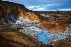 Seltún Geothermal Pools