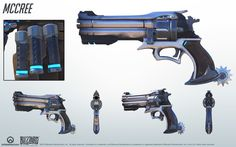 McCree overwatch weapon