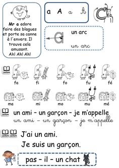 NOUVELLES FICHES SONS PATATI PATATA - LES ALPHAS - La classe de Corinne Read In French, Learn French, Letter Activities, Kids Learning Activities, French Education, Phonics Words, French Immersion, Teaching French, Letter Sounds