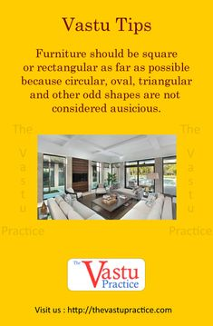 Vastu Tips for Placing Furniture. Furniture should be square or rectangular as far as possible because circular, oval , triangular and other odd shapes are not considered ausicious. Home Decor Furniture, Home Decor Bedroom, Cool Things To Make, Spice Things Up, Feng Shui History, Indian House Plans, Vastu Shastra, Feng Shui Tips, Weird Shapes