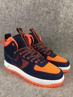 2018 Spring Fashion Nike Lunar Force 1 Duckboot High Blue Orange 1ec990b89e880