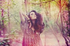 Woodland Shoot Fashion Editorial Spring Nature Fairytale Portrait Forest Woods