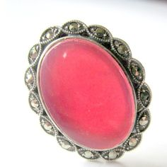 Vintage Sterling Ring Carnelian and by nanascottagehouse on Etsy, $105.00
