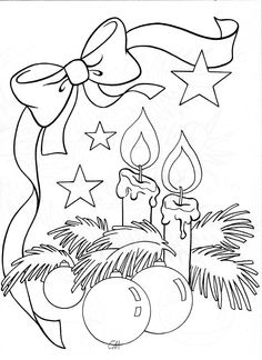 Best Drawing Christmas Ornaments Coloring Pages 68 Ideas Christmas Colors, Christmas Art, Christmas Themes, Christmas Ornaments, Christmas Images, Christmas Doodles, Christmas Drawing, Christmas Paintings, Colouring Pages