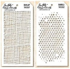 Tim Holz Stencils Burlap & Bubble - Google Search