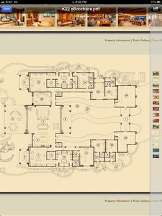 Floor plan... Seriously nice.  Would make a few changes, but only a few!