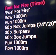 Workout WOD #crossfit