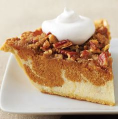 Double Layer Pumpkin Pie, I made this! Came out delish! Everybody loved it.