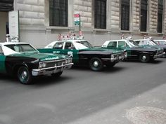 Old Nypd | This is what the NYPD police cars looked like in 1968, they were ...