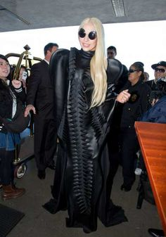#LadyGaga is seen arriving at #LAX airport on November 25, 2013 in Los Angeles (Getty Images)  http://celebhotspots.com/hotspot/?hotspotid=4954&next=1