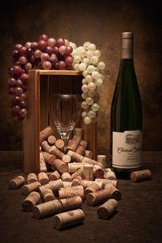 Wine Corks Still Life II Photograph