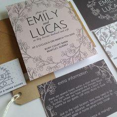 Hochzeit Einladung Karte Ideen Design reichlich